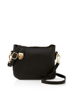 Push Lock Crossbody Bag - 3124073897048