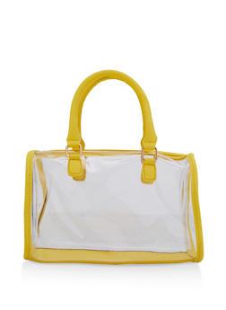 Clear Bowler Bag - 3124073897071