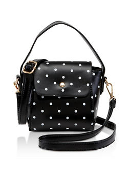 Polka Dot Crossbody Bag - 3124073897088