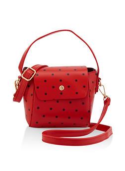 Polka Dot Crossbody Bag - 3124073897088
