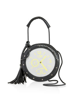 Clock Crossbody Bag - 3124073897196