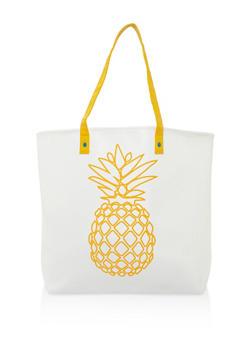 Pineapple Shopper Bag - 3124074110864