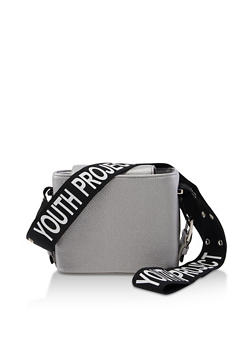 Youth Project Strap Square Crossbody Bag - 3124074391975