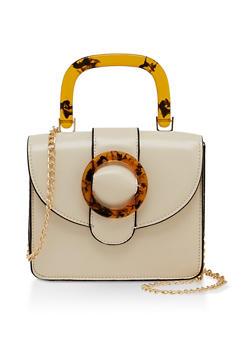 Mini Chain Strap Crossbody Bag - 3124074391986