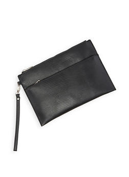 Snake Embossed Clutch - 3124074398611