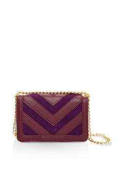 Chevron Crossbody Bag - 3124074399076