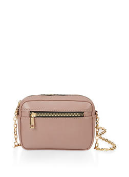 Box Chain Crossbody Bag - 3124074399922