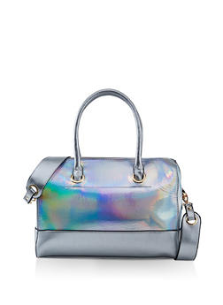 629bf9d6579c Holographic Crossbody Bowler Bag - 3124074508284