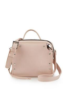 Studded Zip Around Crossbody Bag - 3124075506070