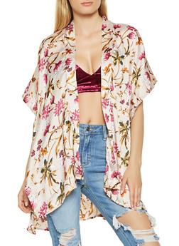 Floral Kimono - 3125018430198