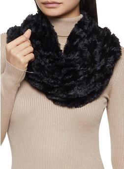 Faux Fur Infinity Scarf - 3125042740022