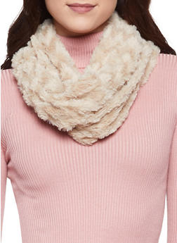 Faux Fur Infinity Scarf - 3125042740022