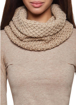 Knit Infinity Scarf - 3125067440621