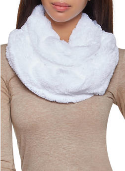 Faux Fur Infinity Scarf - 3125067440626