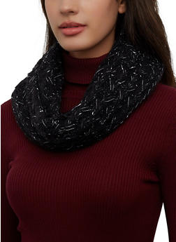 Knit Infinity Scarf - 3125071212014