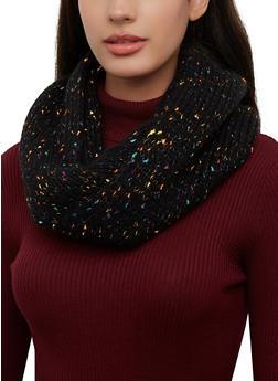 Confetti Knit Infinity Scarf - 3125071212018