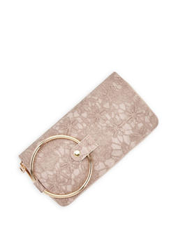 Stitched Double Zip Wallet - 3126061593630