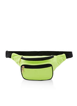 Double Zip Nylon Fanny Pack | 3126067440319 - 3126067440319