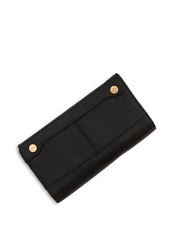 Magnetic Snap Tri Fold Wallet - 3126067440390