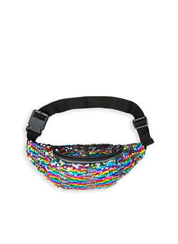 Reversible Sequin Fanny Pack - 3126067444408