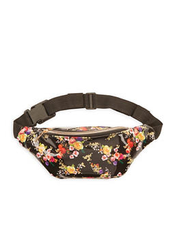 Floral Fanny Pack - 3126067448023
