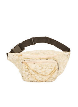 Lace Fanny Pack - 3126067448025