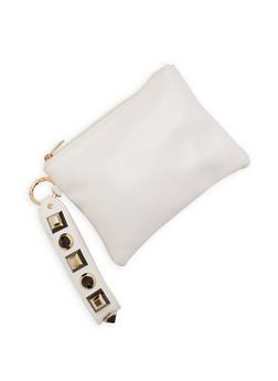 Studded Strap Wristlet - 3126067448045