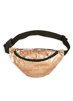 Reversible Sequin Fanny Pack - 3126067448059