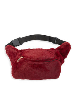 Faux Fur Hand Muff Fanny Pack - 3126067448068