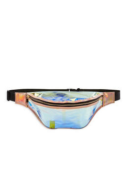 Large Iridescent Fanny Pack - 3126067448096