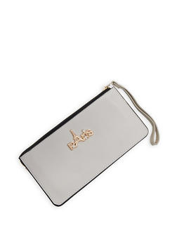 Paris Faux Leather Wallet - 3126067448822