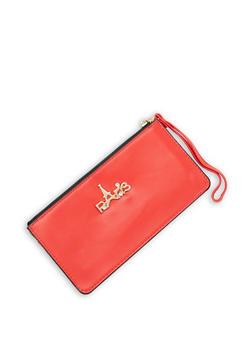 Paris Faux Leather Wallet - 3126067448822
