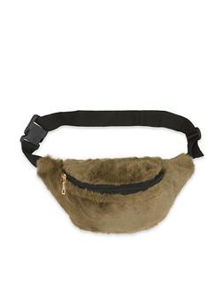 Faux Fur Fanny Pack - 3126067448851