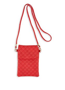 Small Quilted Crossbody Bag - 3126067449059