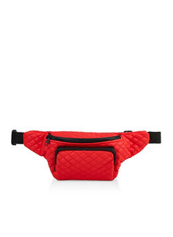 Quilted Fanny Pack | 3126067449073 - 3126067449073