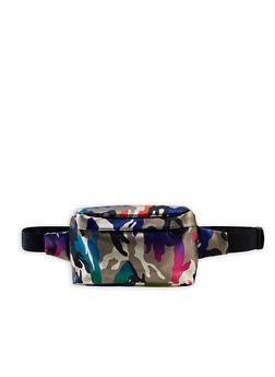 Multi Color Camo Fanny Pack - 3126067449104