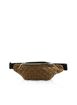 Sequin Quilted Fanny Pack - 3126067449113