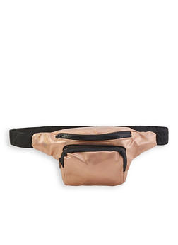 Faux Saffiano Leather Fanny Pack | 3126067449119 - 3126067449119
