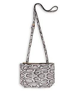 Animal Print Crossbody Bag - 3126067449129
