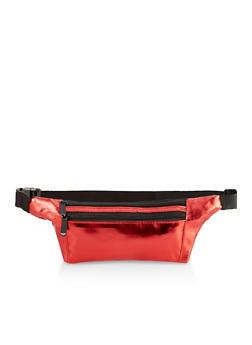 Slim Double Zip Fanny Pack - 3126067449159
