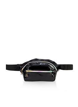 Rainbow Zipper Fanny Pack - 3126067449168