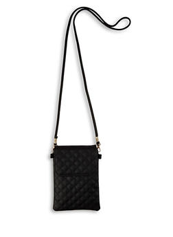 Quilted Crossbody Bag |  3126067449298 - 3126067449298