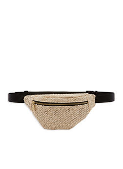 Straw Fanny Pack - 3126067449911