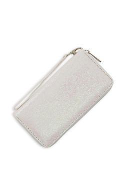 Glitter Zip Around Wallet - 3126071756866