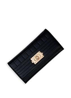Turn Lock Flap Wallet - 3126073897621