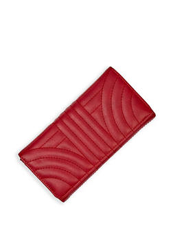 Quilted Accordion Wallet - 3126073897636