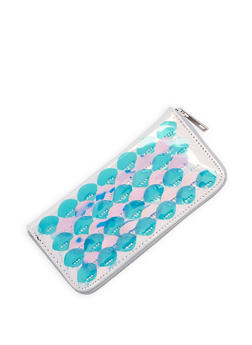 Holographic Mermaid Scale Wallet - 3126074390334