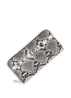 Snake Print Wallet - 3126074391763