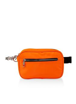Double Zip Belt Bag - 3126074391972