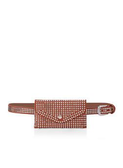 Studded Belt Bag - 3126074392000